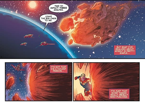 What Are Superman and Captain Marvel Punching Today? [Spoilers]