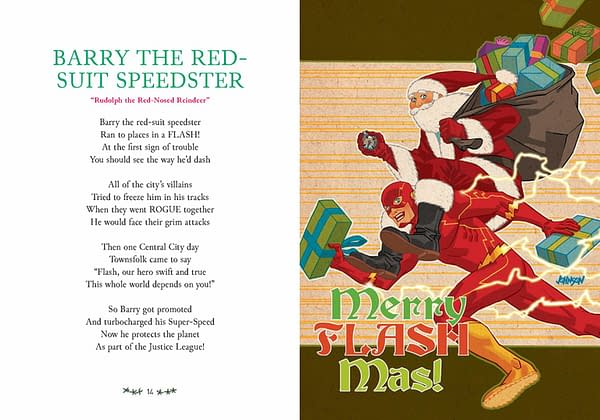 Daniel Kibblesmith Gives DC Comics Fans an Early Christmas Peesent