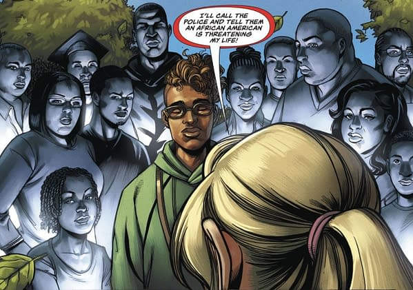 DC Comics Black Lives Matter Messaging - Will It Go Further?