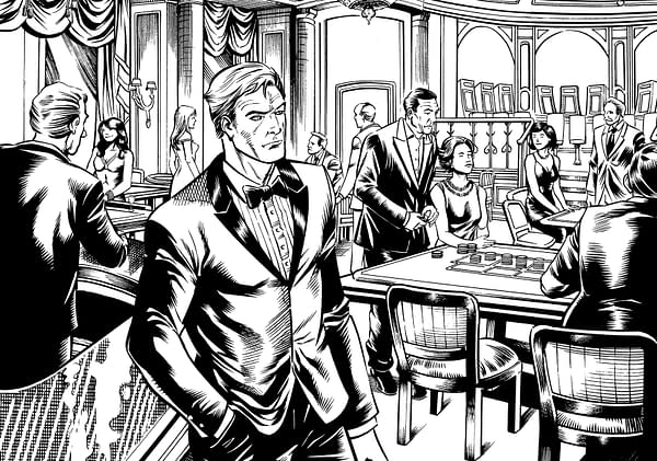 The Next Issue of Punchline is a Love Letter to James Bond