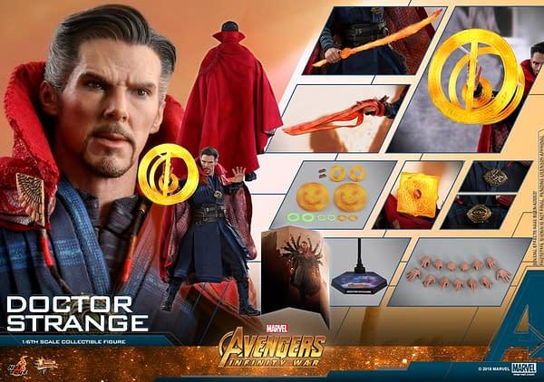 Doctor Strange Infinity War Hot Toys 24