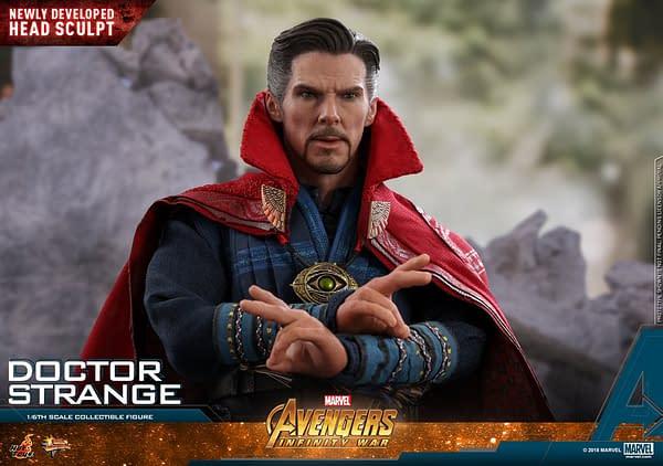 Doctor Strange Infinity War Hot Toys 3