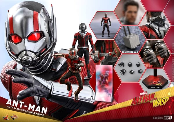 Ant Man and Wasp Hot Toys Figures 23