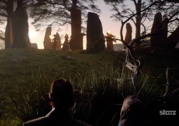 Outlander Warns Fans to Avoid Large Rock Formations in PSA