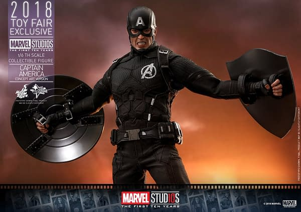 Hot Toys Concept Art Captain America 18