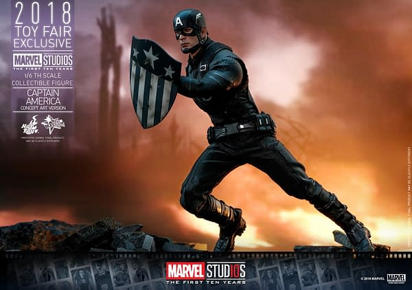 Hot Toys Concept Art Captain America 2