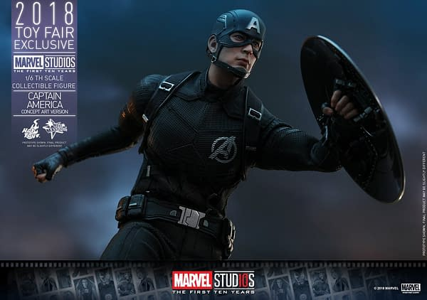 Hot Toys Concept Art Captain America 20