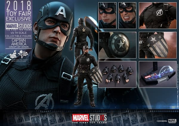 Hot Toys Concept Art Captain America 23