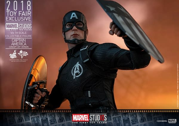 Hot Toys Concept Art Captain America 7