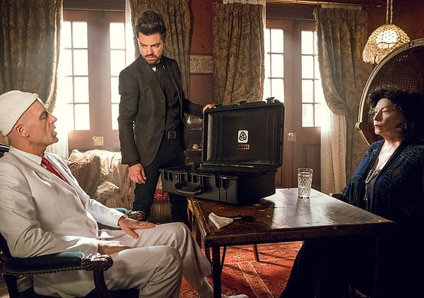 Preacher Preview: Herr Starr Meets Gran'ma; The Saint of Killers Gets a Sandwich from Hitler