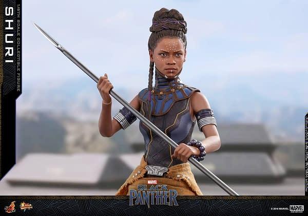 Black Panther Shuri Hot Toys 2