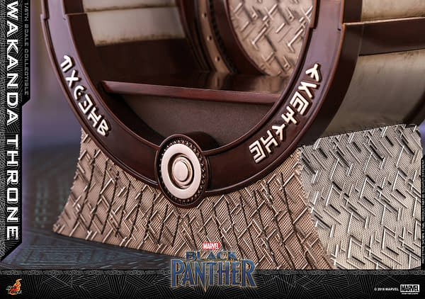 Black Panther Wakanda Throne Hot Toys 10