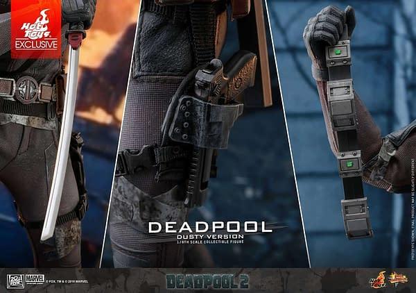 Hot Toys Deadpool Dusty 12
