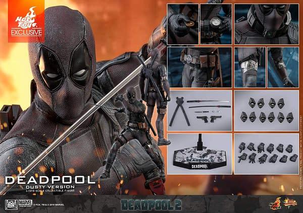 Hot Toys Deadpool Dusty 13