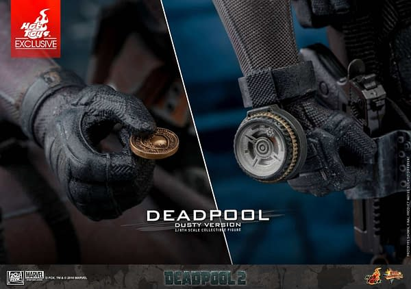 Hot Toys Deadpool Dusty 3