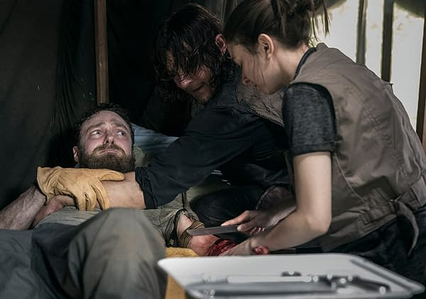 The Walking Dead s09e02 'The Bridge' Builds Season 9 Tension Effectively (REVIEW)