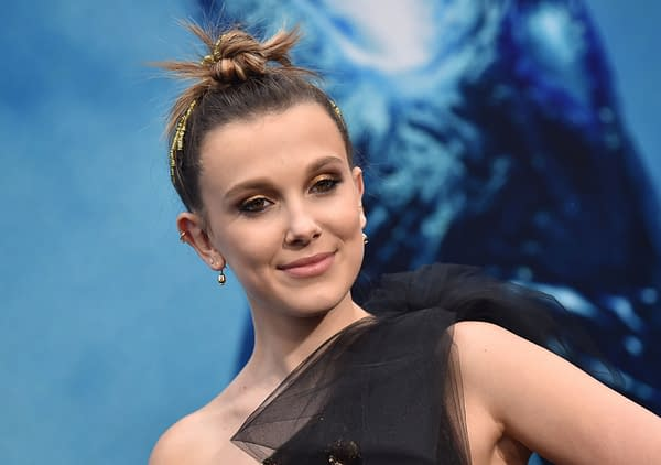 Millie Bobby Brown arrives for the 'Godzilla: King of the Monstersl' Hollywood Premiere on May 18, 2019 in Hollywood, CA. Editorial credit: DFree / Shutterstock.com