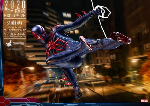 Hot Toys Toy Fair 2020 - Ragnarok Stan Lee and Spider-Man 2099