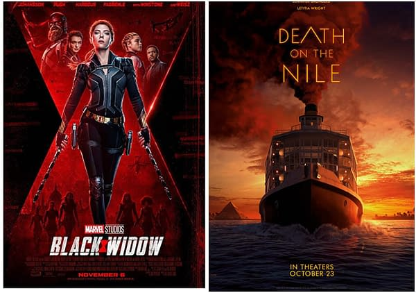 Disney Delays Black Widow and Death On The Nile