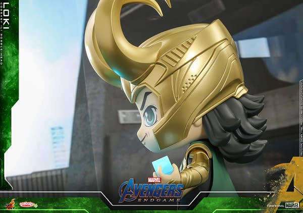 Loki and Iron Man Get Super-Sized Cosbaby's from Hot Toys