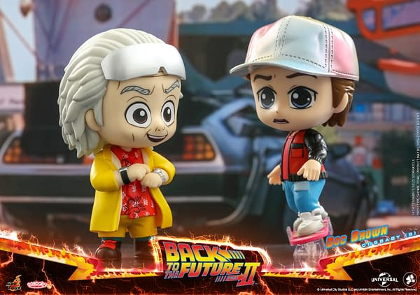 Back to the Future II Comes To Hot Toys With More Cosbaby Figures