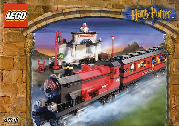 LEGO Reveals Golden Harry Potter Minifigures For 20th Anniversary Sets