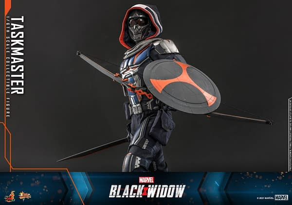 Taskmaster Hunts Black Widow With Hot Toys Newest Reveal