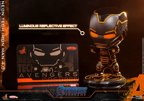 Iron Man Enters The Grid with New 4.0 Neon Tech Figures From Hot Toys