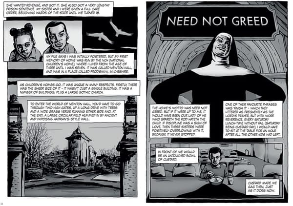 Black - A Windrush Autobiographical Graphic Novel