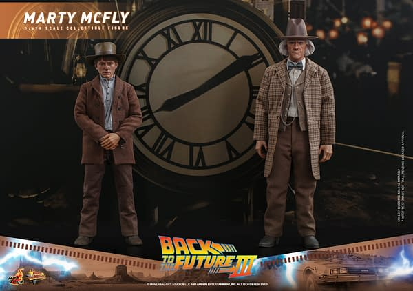 Cowboy Marty McFly Arrives with Hot Toys Back to the Future Part III