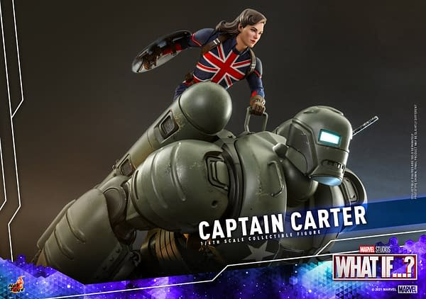 Marvel Studios What If…? Captain Carter Comes to Hot Toys