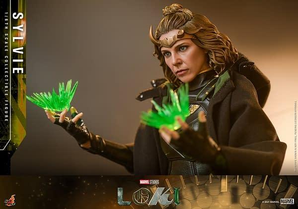 Hot Toys Unveils Sylvie Laufeydottir 1/6th Scale Figure from Loki