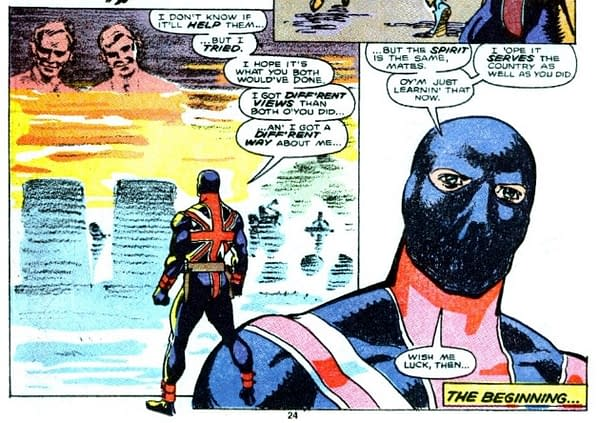 Marvel Comics Presents: The Time Union Jack Resisted Thatcher's England in 1990