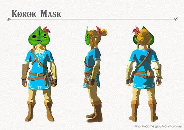 'Breath Of The Wild' DLC Blog Reveals New Details On Korok Seeds
