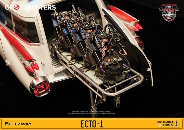 Ghostbusters Ecto-1 Gets The Ultimate Release From Blitzway