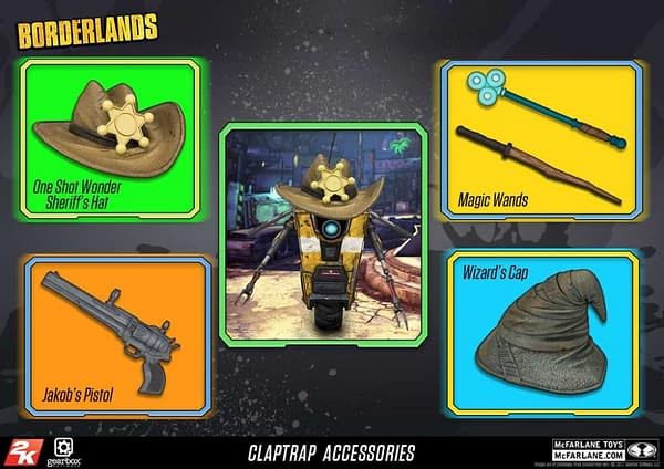 Borderlands 2 Claptrap Gets a Deluxe Figure from McFarlane Toys