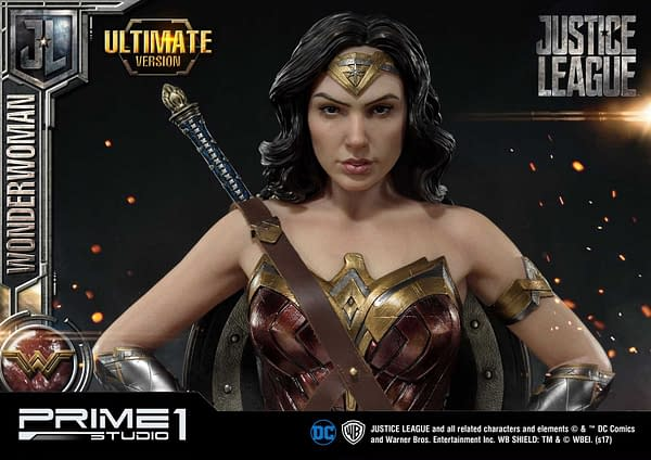 You Can Now Preorder Prime 1 Studio's Insanely Cool Wonder Woman Statue and Bust