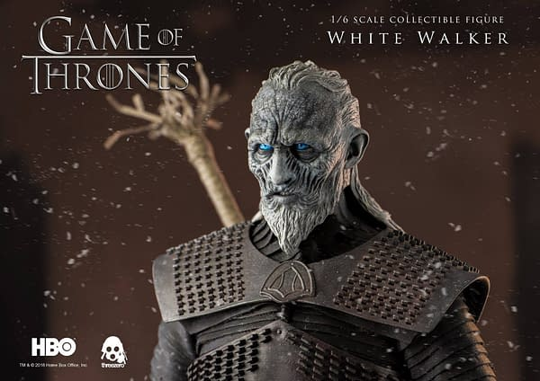 Game of Thrones White Walker Brings Winter to Toy Collections, Thanks to ThreeZero