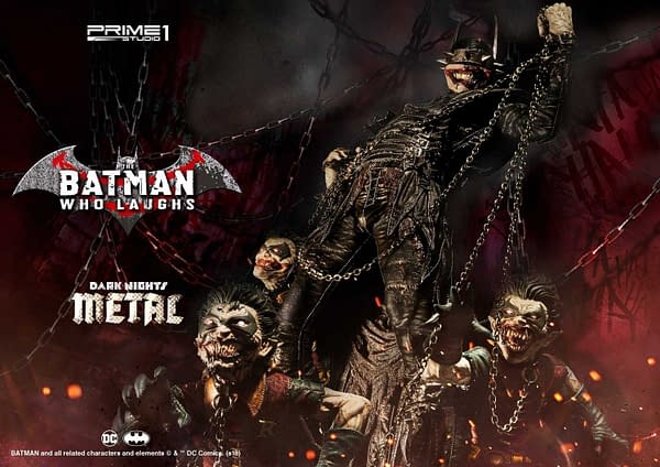 Dark Knights Metal Batman Who Laughs Prime 1 Studio Statue 6