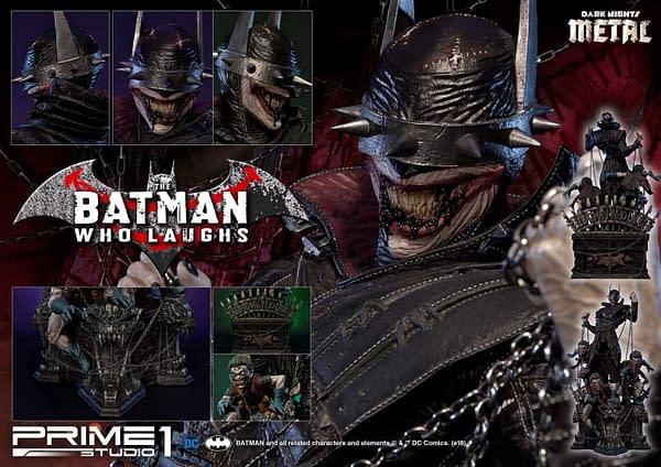 Dark Knights Metal Batman Who Laughs Prime 1 Studio Statue 8