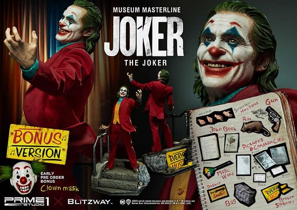 Joker Statue from Prime 1 Studio and Blitzway