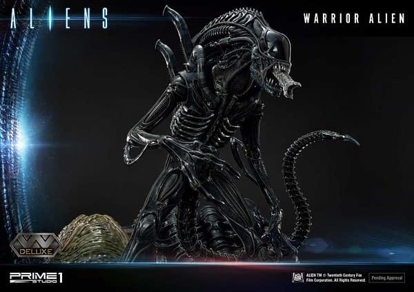 Prime 1 Studios Aliens Alien Warrior Statue