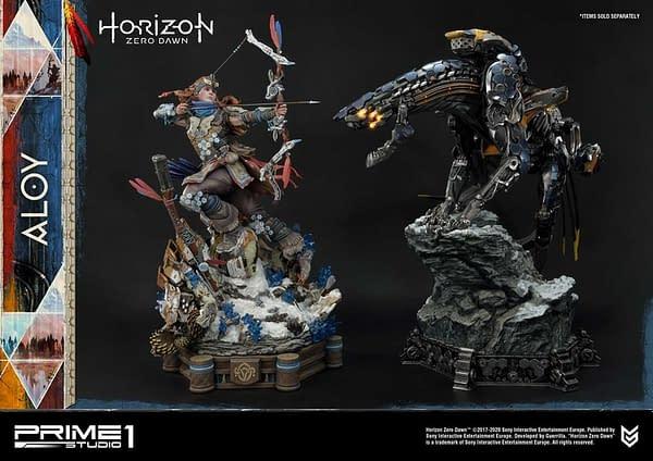 Horizon Zero Dawn Aloy Is on the Hunt With Prime 1 Studio