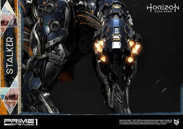 Horizon Zero Dawn Stalker Stands Its Ground With Prime 1 Studio