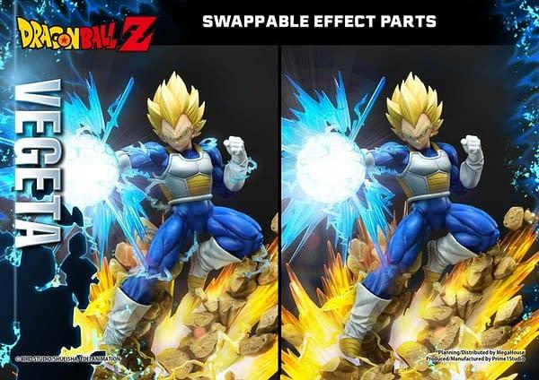 Vegeta Goes Super Sayian with Prime 1 Studios Dragon Ball Z Statue