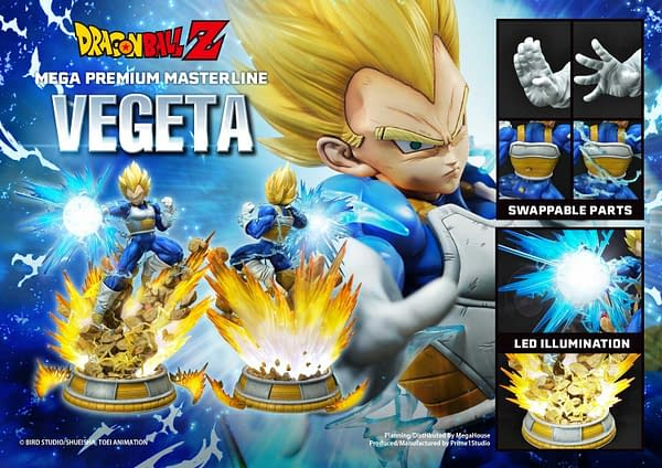 Vegeta Goes Super Sayian with Prime 1 Studios