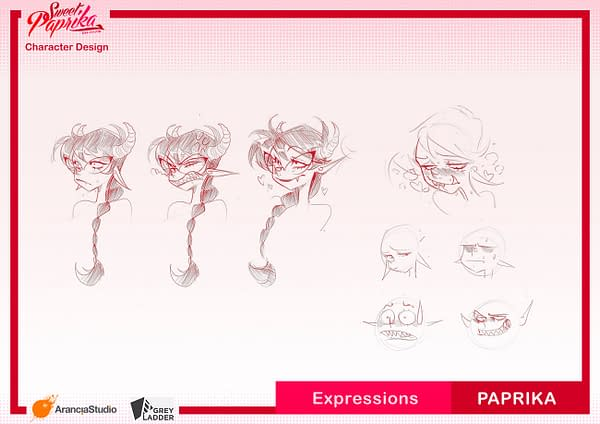 Mirka Andolfo Launches Her First Animated Project, Sweet Paprika