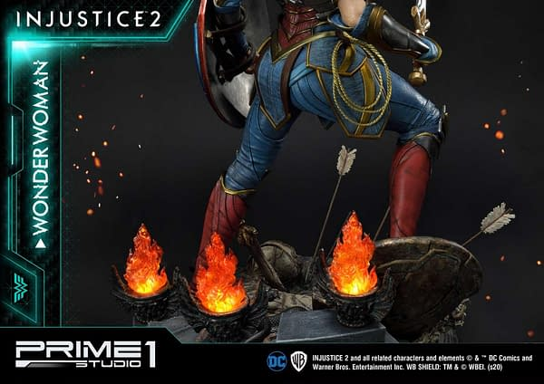 Injustice 2 Wonder Woman Gets New Statue from Prime 1 Studio
