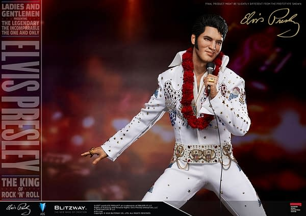 Elvis Presley Rocks the Stage with New Blitzway Statue