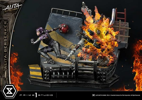 Alita: Battle Angel Toys Out for Motorball with Prime 1 Studio
